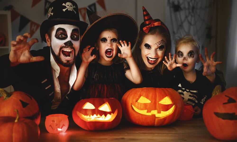 Elegir disfraz para niños en Halloween